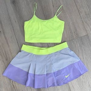 Nike Skirts - Nike Dry-Fit Tennis Skirt Outfit